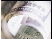 доллар упал