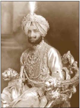 ожерелье, созданном для украшения мужчины, – знаменитом ожерелье Патьялы (Patiala),
