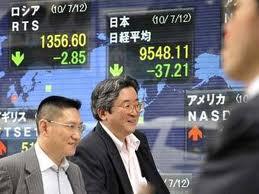 Торги на Токийской фондовой бирже