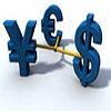 Положение американской валюты по отношению к евро и иене