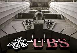 Прибыль банка UBS упала на €2,7 млрд по итогам 2011г.