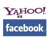 Yahoo! подала иск о защите прав против Facebook
