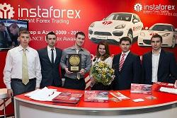 InstaForex приняла участие в выставке ShowFx World в Киеве