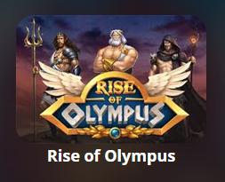 Игровой автомат «Rise Of Olympus»