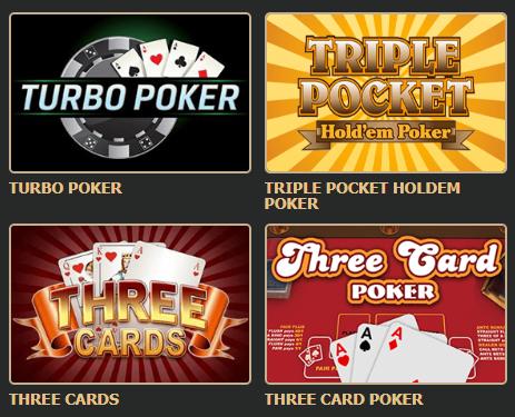 онлайн покер казино Рокс