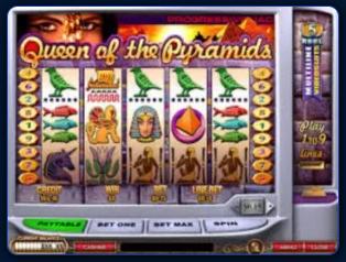 Queen of Pyramids Казино Вулкан